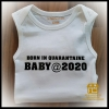 Bedrukte Baby textiel